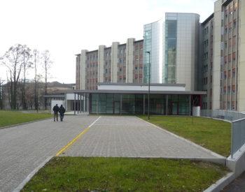Entrata nuova Ospedale di Feltre